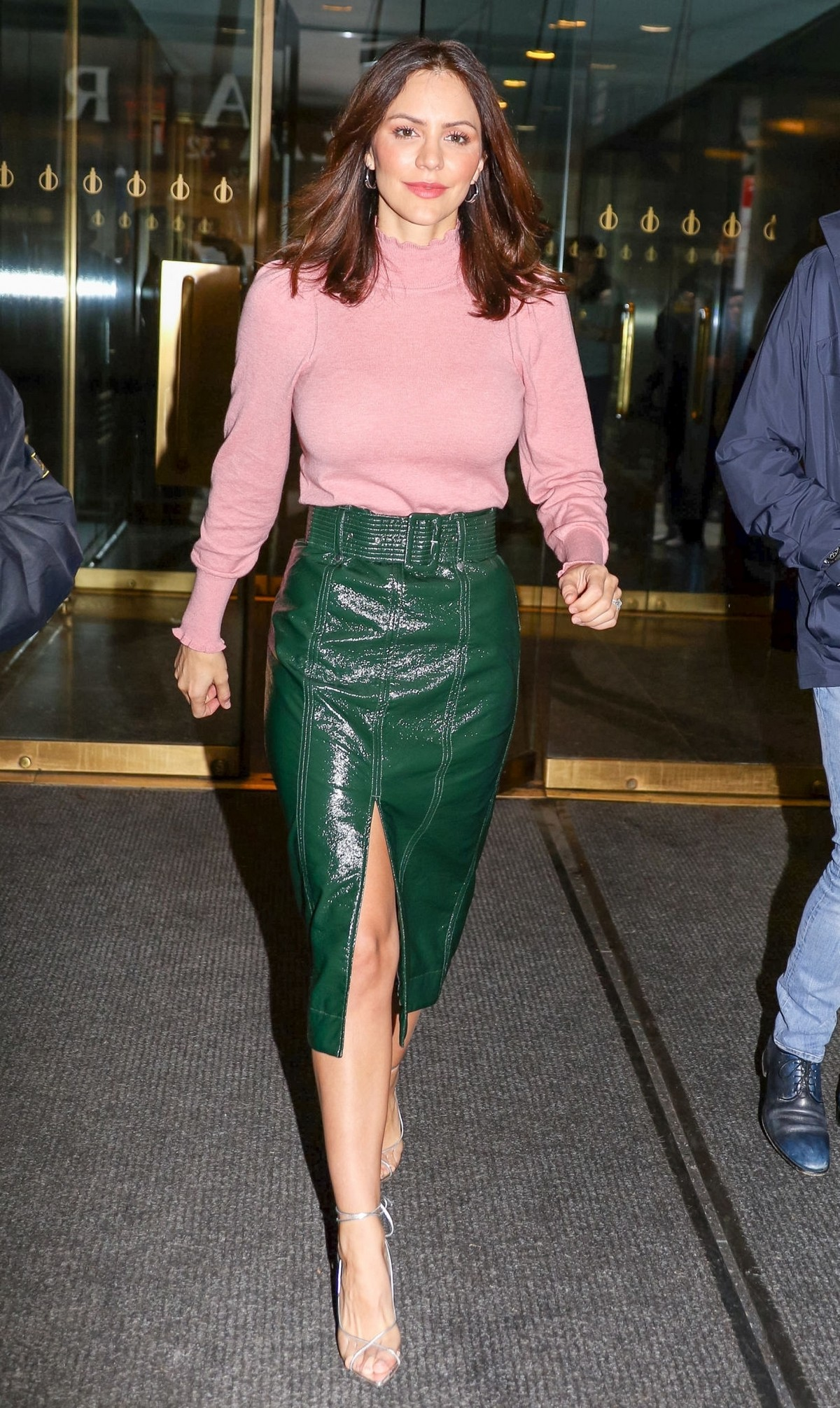 Katharine McPhee Leaves The Today Show in New York 2019/11/19 2