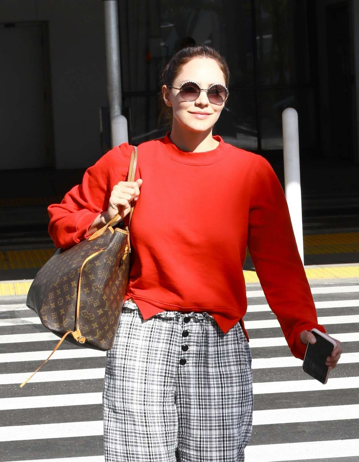 Katharine McPhee Outside at LAX Airport in Los Angeles International Airport 2019/11/09 4