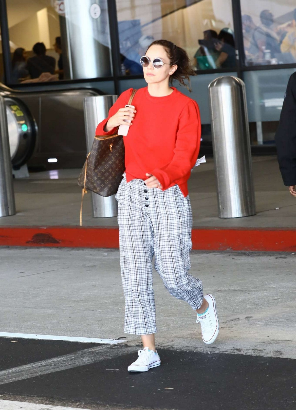 Katharine McPhee Outside at LAX Airport in Los Angeles International Airport 2019/11/09 6