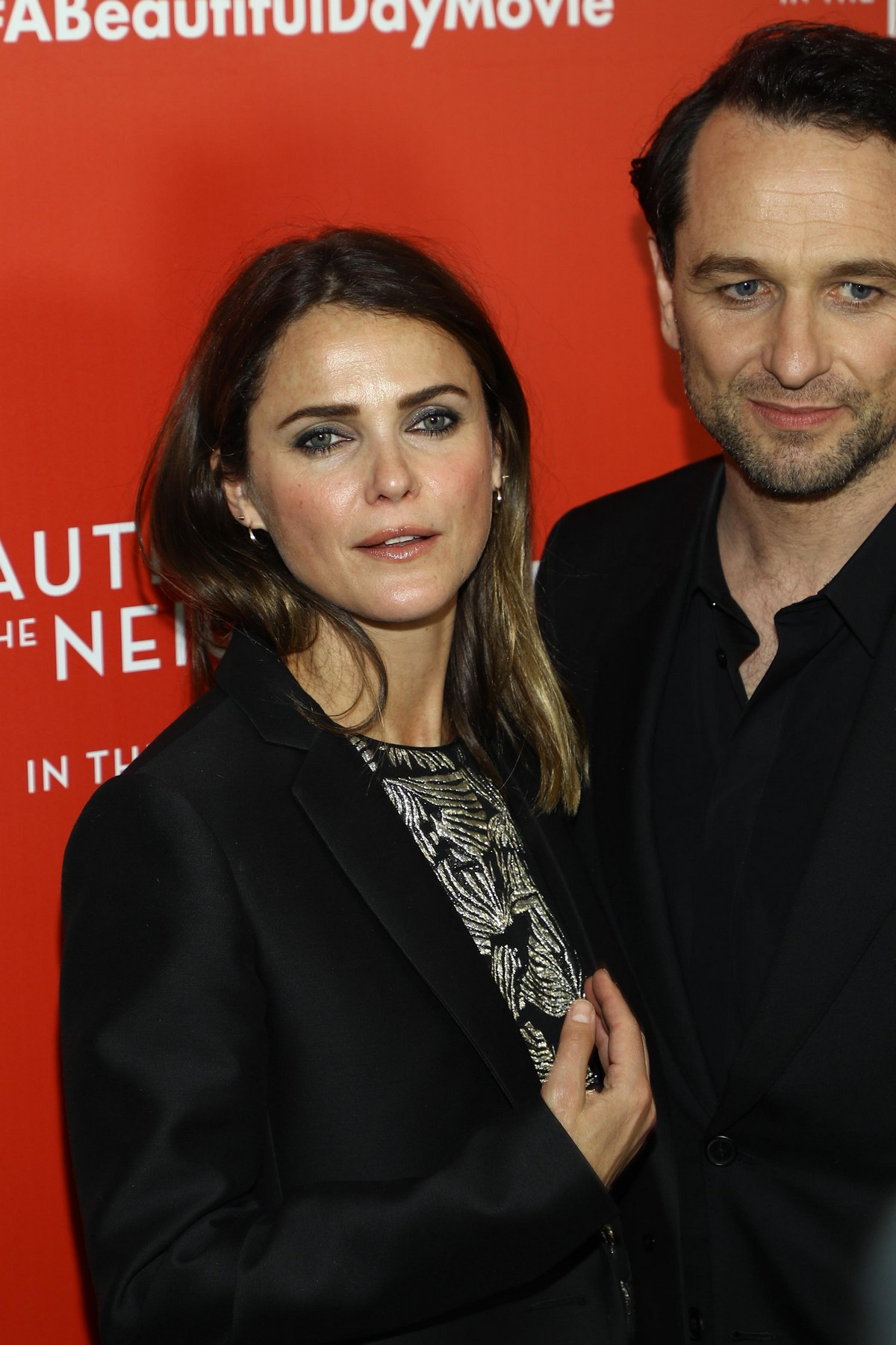 """Keri Russell and Matthew Rhys arrive """"A Beautiful Day In The Neighborhood"""" Screening at Brookfield Place2019/11/17 1"""