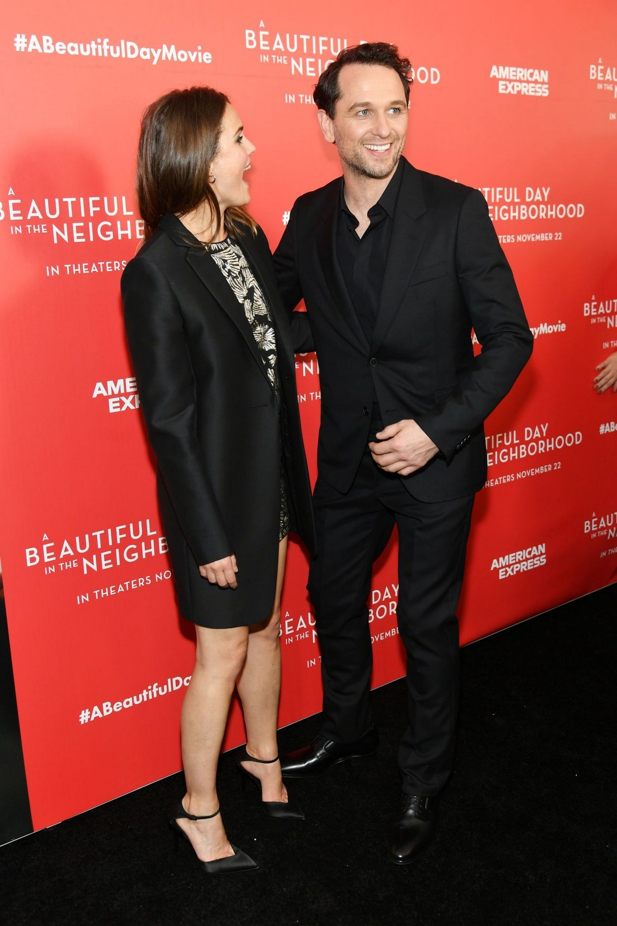 """Keri Russell and Matthew Rhys arrive """"A Beautiful Day In The Neighborhood"""" Screening at Brookfield Place2019/11/17 2"""