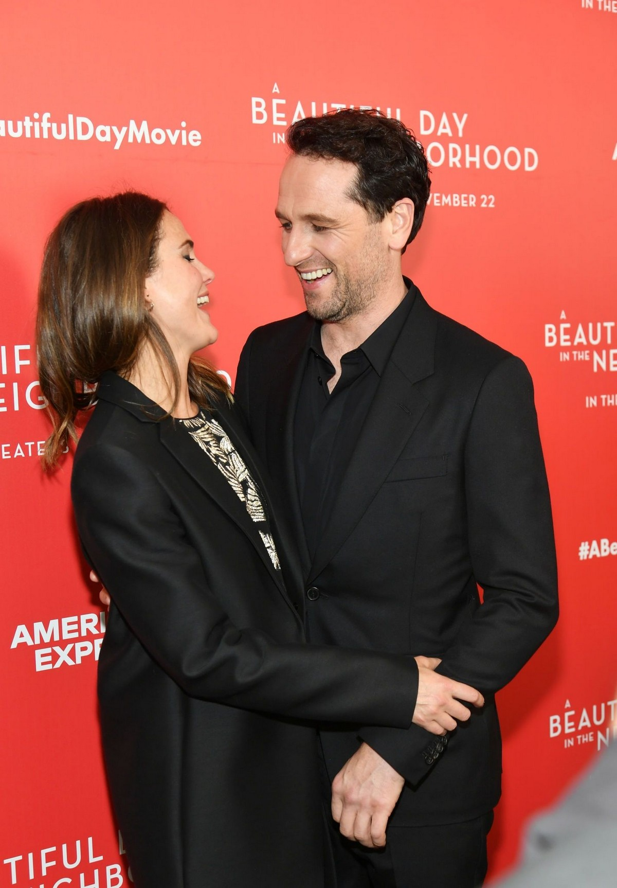 """Keri Russell and Matthew Rhys arrive """"A Beautiful Day In The Neighborhood"""" Screening at Brookfield Place2019/11/17 4"""