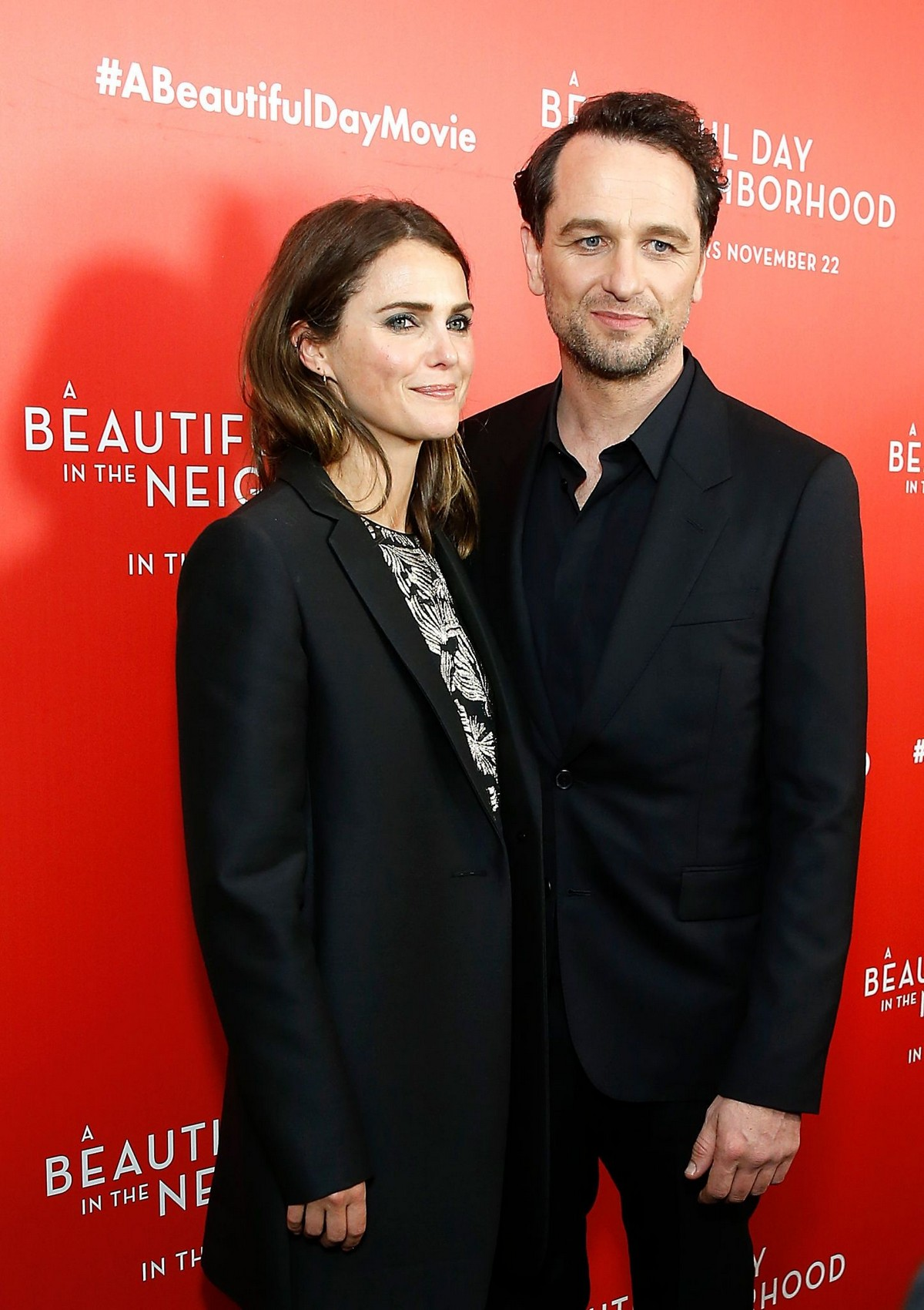 """Keri Russell and Matthew Rhys arrive """"A Beautiful Day In The Neighborhood"""" Screening at Brookfield Place2019/11/17 5"""