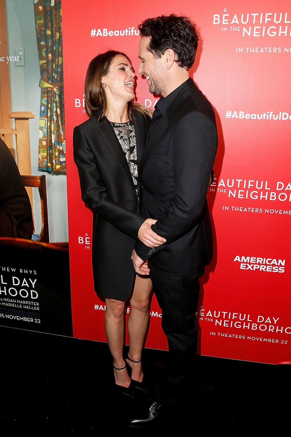 """Keri Russell and Matthew Rhys arrive """"A Beautiful Day In The Neighborhood"""" Screening at Brookfield Place2019/11/17 6"""