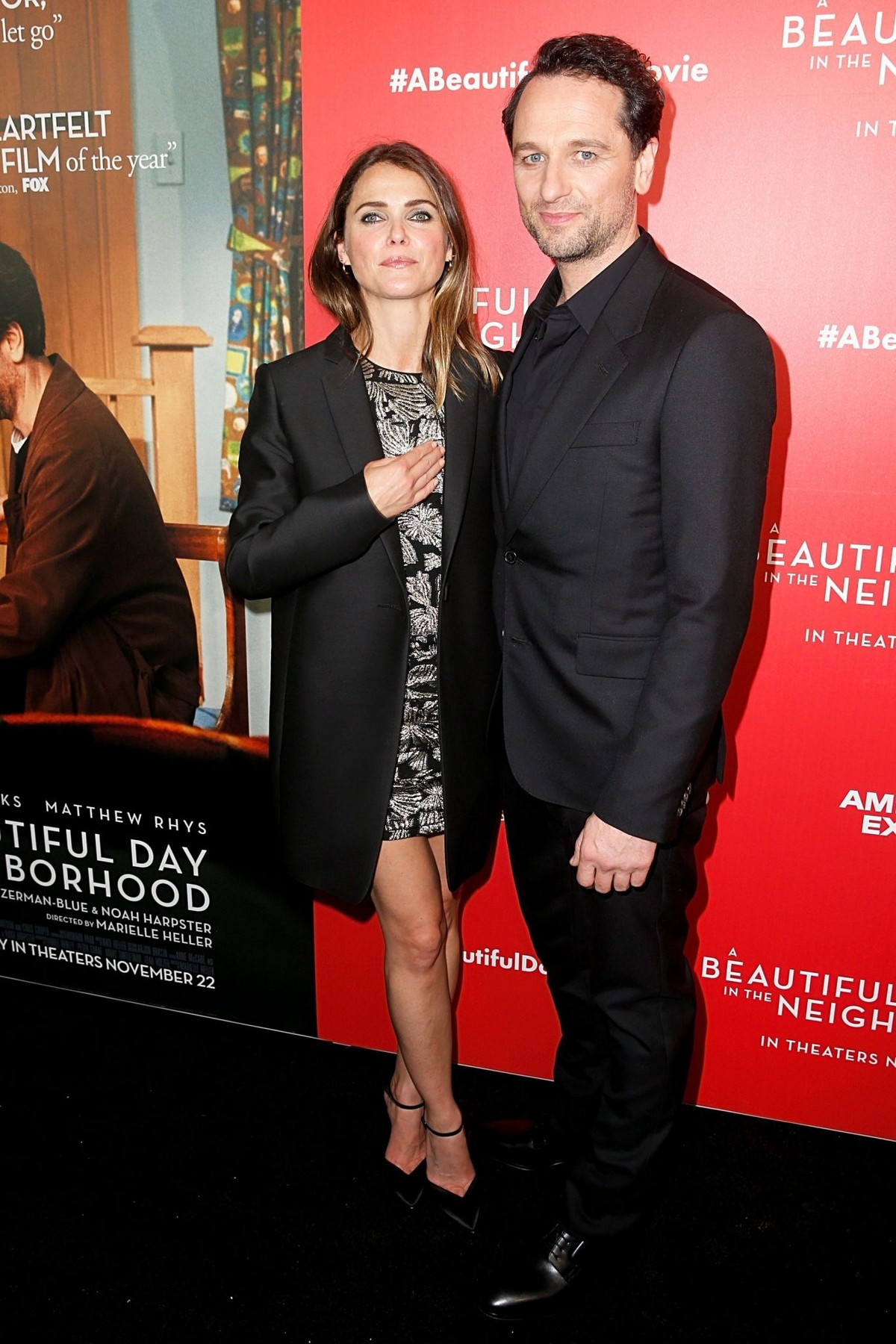 """Keri Russell and Matthew Rhys arrive """"A Beautiful Day In The Neighborhood"""" Screening at Brookfield Place2019/11/17 7"""