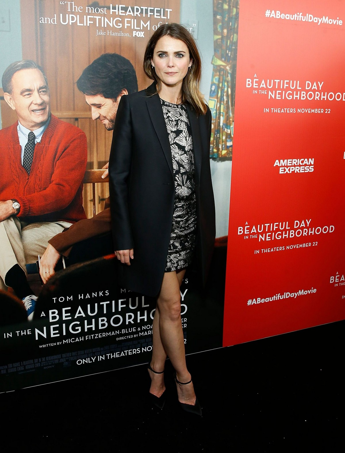 "Keri Russell arrives ""A Beautiful Day In The Neighborhood"" Screening at Henry R. Luce Auditorium 2019/11/17 5"