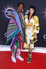 Kesha and Freedia attend 2019 American Music Awards at Microsoft Theater in Los Angeles 2019/11/24 2