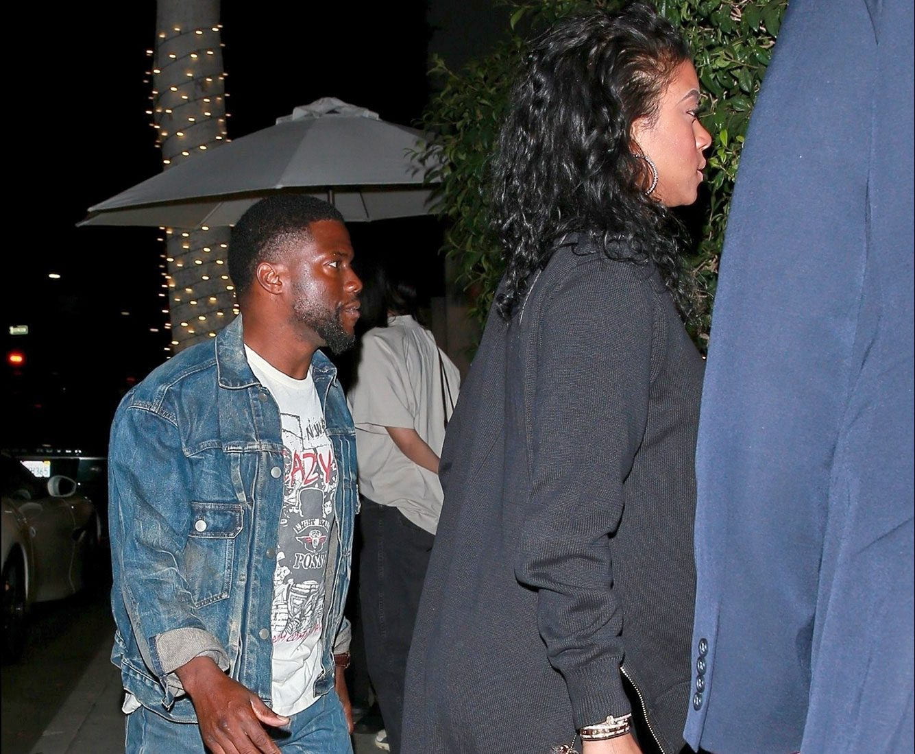 Kevin Hart went out with his wife Eniko Parrish for dinner 1