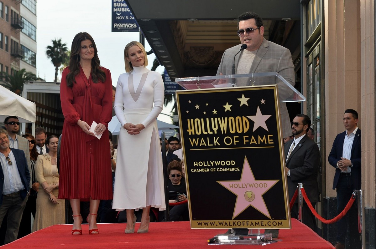 Kristen Bell honored with a stars on the Hollywood Walk of Fame in Hollywood 2019/11/19 2