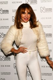 Lizzie Cundy enjoys Natural History Museum Ice Rink Launch Party in London 2019/10/23 2