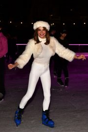 Lizzie Cundy enjoys Natural History Museum Ice Rink Launch Party in London 2019/10/23 3