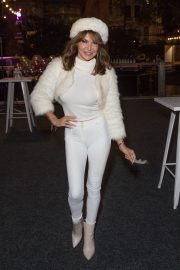Lizzie Cundy enjoys Natural History Museum Ice Rink Launch Party in London 2019/10/23 10