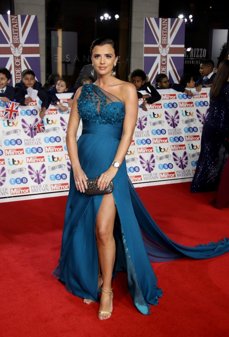 Lucy Mecklenburgh attends 2019 Pride Of Britain Awards in London 2019/10/28 1