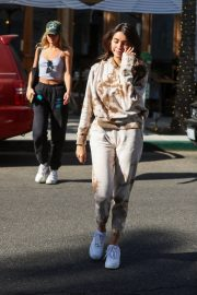 Madison Beer and friend Isabella Jones out for lunch in Beverly Hills 2019/10/31 12
