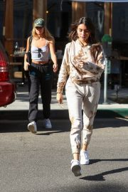 Madison Beer and friend Isabella Jones out for lunch in Beverly Hills 2019/10/31 17