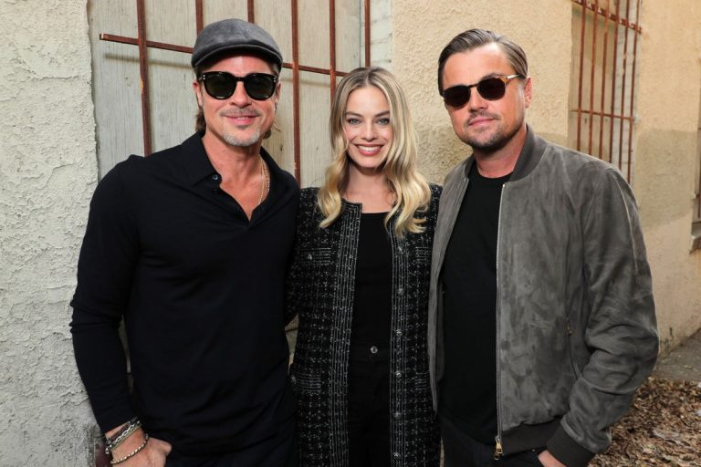 Margot Robbie, Brad Pitt and and Leonardo DiCaprio attend 'Once Upon a Time in Hollywood' Screening in Los Angeles 2019/11/02 1
