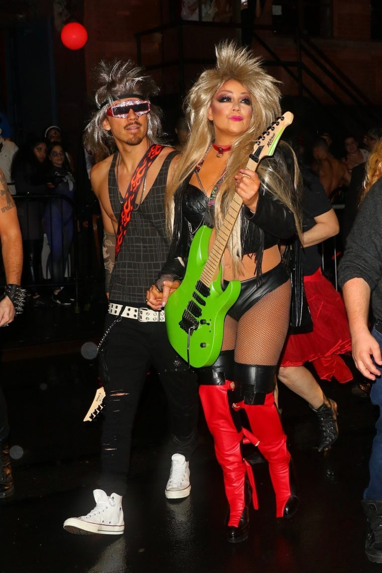 Mariah Carey attends Heidi Klum's Halloween Party 2019 in New York 2019/10/31 11