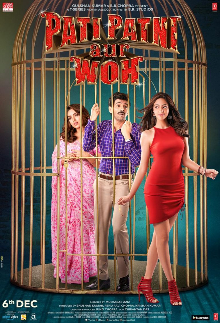 New poster of Kartik Aaryan's 'Pati Patni Aur Woh' release, Trailer out today 1
