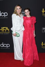 Olivia Wilde and Kaitlyn Dever at 23rd Annual Hollywood Film Awards at The Beverly Hilton Hotel in Beverly Hills 2019/11/03 5