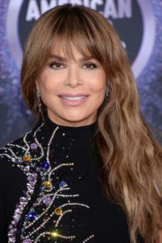 Paula Abdul attends 2019 American Music Awards in Los Angeles 2019/11/24 2