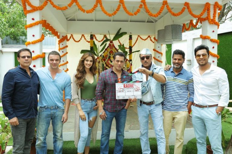 Radhe: Your Most Wanted Bhai, Salman Khan starts shooting with Disha Patani 1