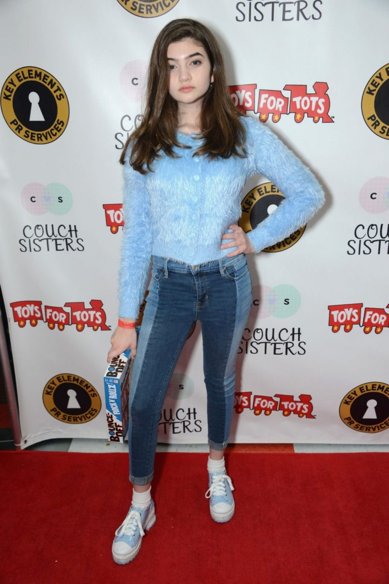 Samantha Gangal at The Couch Sisters 1st Annual Toys For Tots Toy Drive in Glendale 11/20 1