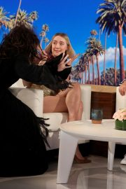 Saoirse Ronan attends The Ellen DeGeneres Show in Burbank, California 2019/10/30 3