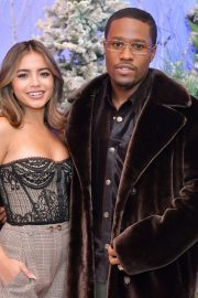 """Shameik Moore and Isabela Merced arrives Netflix's """"Let It Snow"""" at Four Seasons Hotel in Beverly Hills 2019/11/01 1"""