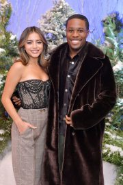 """Shameik Moore and Isabela Merced arrives Netflix's """"Let It Snow"""" at Four Seasons Hotel in Beverly Hills 2019/11/01 2"""