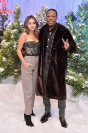 """Shameik Moore and Isabela Merced arrives Netflix's """"Let It Snow"""" at Four Seasons Hotel in Beverly Hills 2019/11/01 3"""