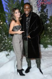 """Shameik Moore and Isabela Merced arrives Netflix's """"Let It Snow"""" at Four Seasons Hotel in Beverly Hills 2019/11/01 6"""
