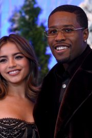 """Shameik Moore and Isabela Merced arrives Netflix's """"Let It Snow"""" at Four Seasons Hotel in Beverly Hills 2019/11/01 7"""