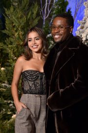 """Shameik Moore and Isabela Merced arrives Netflix's """"Let It Snow"""" at Four Seasons Hotel in Beverly Hills 2019/11/01 11"""