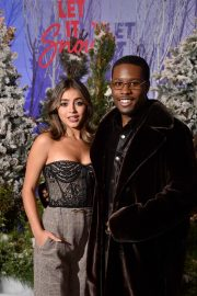 """Shameik Moore and Isabela Merced arrives Netflix's """"Let It Snow"""" at Four Seasons Hotel in Beverly Hills 2019/11/01 12"""