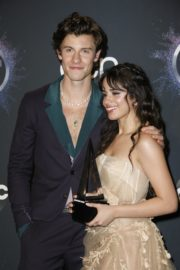 Shawn Mendes and Camila Cabello attend 2019 American Music Awards at Microsoft Theater in Los Angeles 2019/11/24 1
