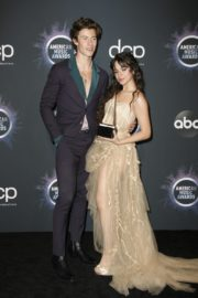 Shawn Mendes and Camila Cabello attend 2019 American Music Awards at Microsoft Theater in Los Angeles 2019/11/24 4