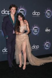 Shawn Mendes and Camila Cabello attend 2019 American Music Awards at Microsoft Theater in Los Angeles 2019/11/24 13