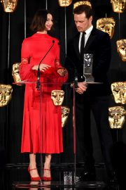 Star Sam Heughan and Caitriona Balfe at the BAFTA in Scotland 2019/11/03 1