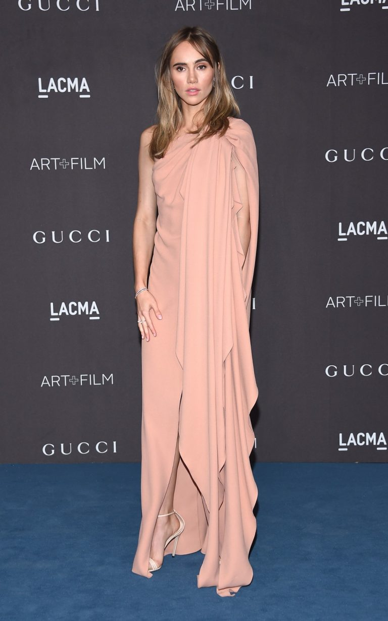 Suki Waterhouse attends 2019 LACMA Art + Film Gala Presented By Gucci in Los Angeles 2019/11/02 16