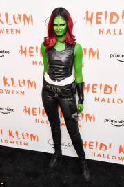 Taylor Hill attends Heidi Klum's 20th Annual Halloween Party in New York 2019/10/31 9