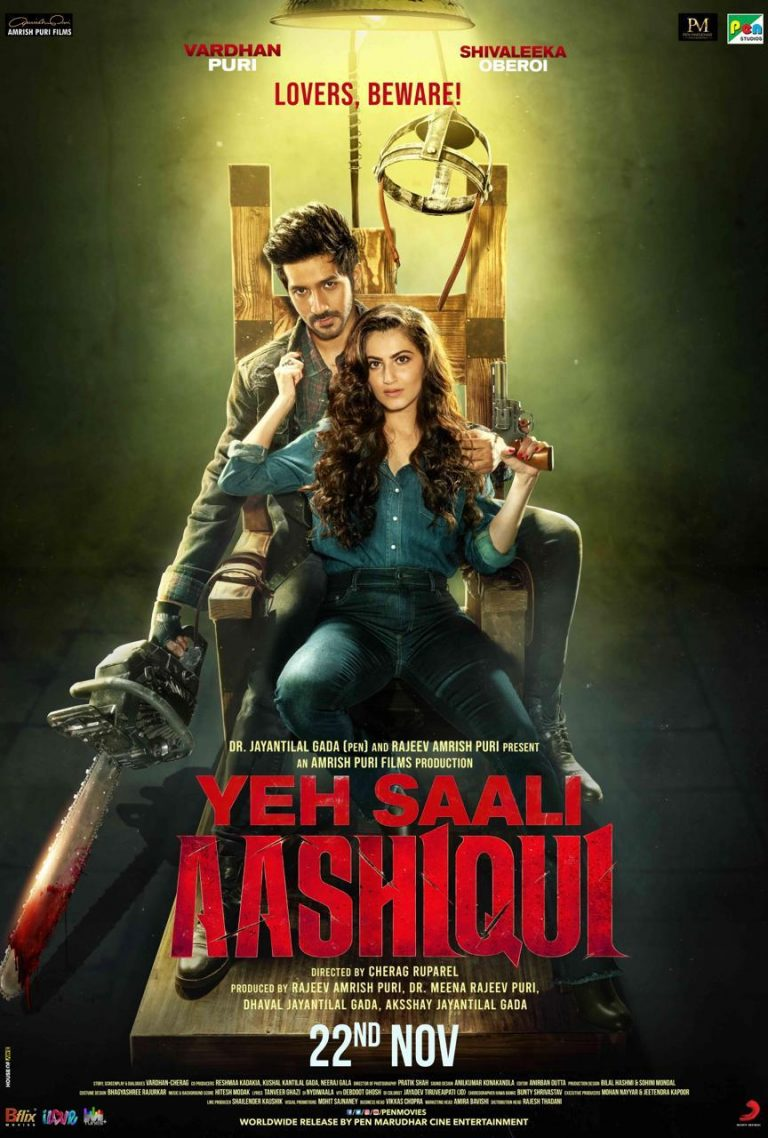 Yeh Saali Aashiqui New Poster Out, Introducing Vardhan Puri and Shivaleeka Oberoi 1