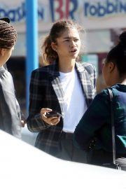 Zendaya Out for a business meeting in Burbank 2019/10/31 13