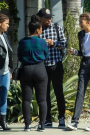 Zendaya Out for a business meeting in Burbank 2019/10/31 15