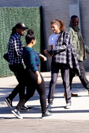 Zendaya Out for a business meeting in Burbank 2019/10/31 18