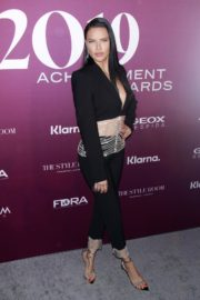 Adriana Lima at 2019 Footwear News Achievement Awards in New York City 2019/12/03 13