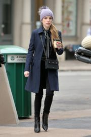 Anna Kendrick on the set of 'Love Life' in New York City 2019/12/04 16