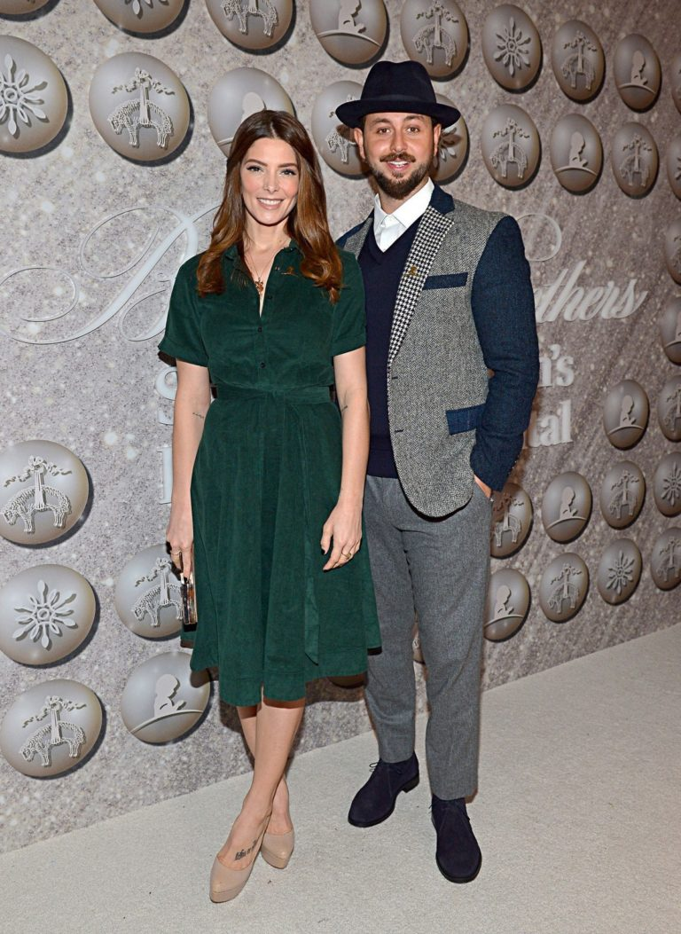 Ashley Greene and Paul Khoury attend Brooks Brothers Holiday Celebration St. Jude in West Hollywood 2019/12/07 1