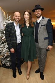 Ashley Greene and Paul Khoury attend Brooks Brothers Holiday Celebration St. Jude in West Hollywood 2019/12/07 2