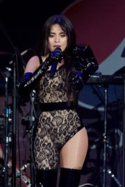 Camila Cabello performs B96 Jingle Bash at the Allstate Arena in Chicago 2019/12/07 9