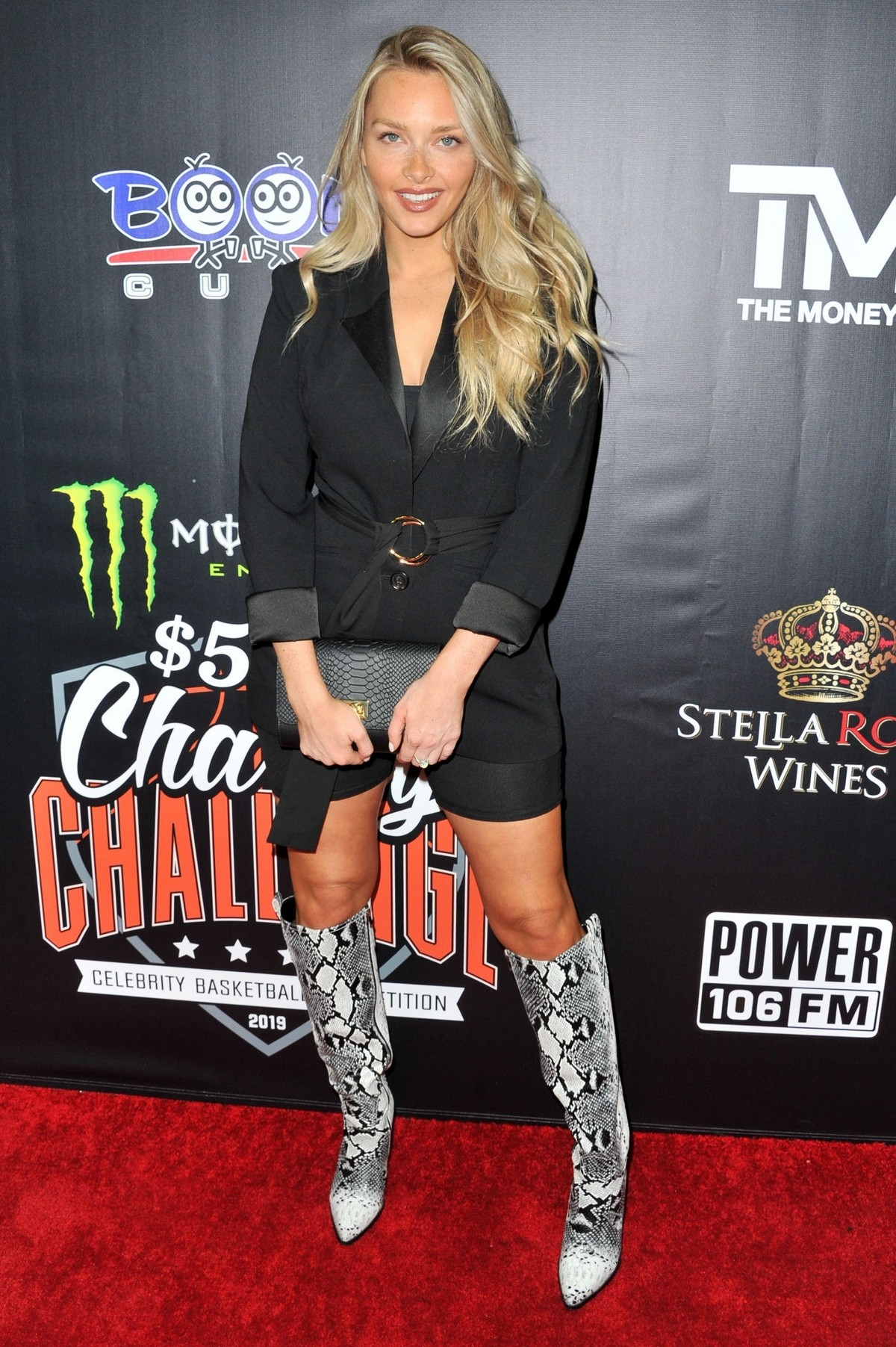 Camille Kostek at Monster Energy Charity Basketball Game in Westwood 2019/07/08 1